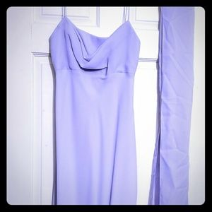 Formal Gown - periwinkle